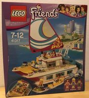 LEGO Frieds - Sonnenschein-Katamaran 41317 - Neu