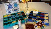 Porzellan-Perlen hitzefest für Perlendeckchen