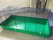 Neuwertiger Kaninchen Meerschweinchenkäfig 120cmx60cm top