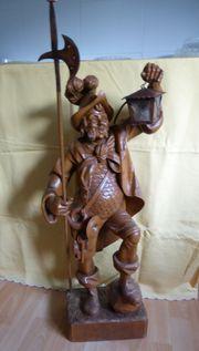 Holzschnitzerei Motiv Nachtwächter aus Oberammergau