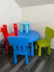 IKEA Mammut Tisch 3 Stühle