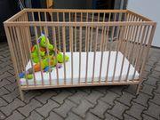 IKEA Babybett Sniglar 120x60cm inkl