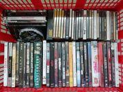 Mehrere DVDs und CDs abzugeben