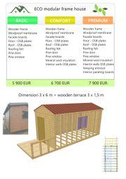 Modular frame house Tiny house