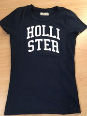 hollister t-shirt dunkelblau
