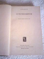 Luxusdampfer - Roman einer Überfahrt - Gina Kaus