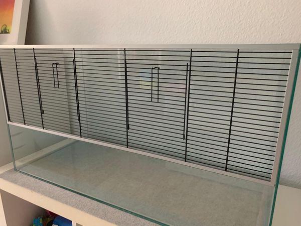 Terrarium für Zwerghamster und andere Kleintiere