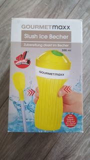 slush ice becher tv media