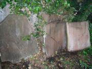 alte Sandsteinplatten ca 6 cm