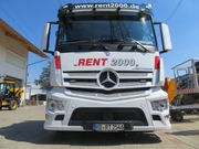 LKW - Fahrer Transport Bagger Arbeitsbühnentransporte