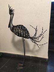 Gartendeko Stelzvogel