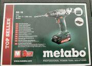 Metabo BS18 Akkuschrauber 2x Lithium