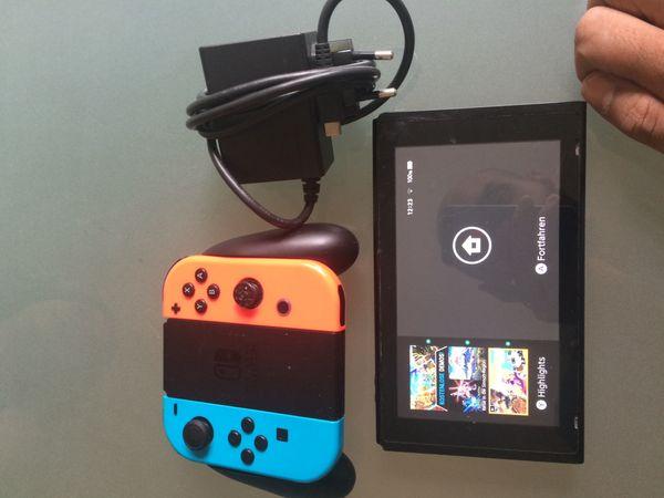 Nintendo switch Inkl Controller und