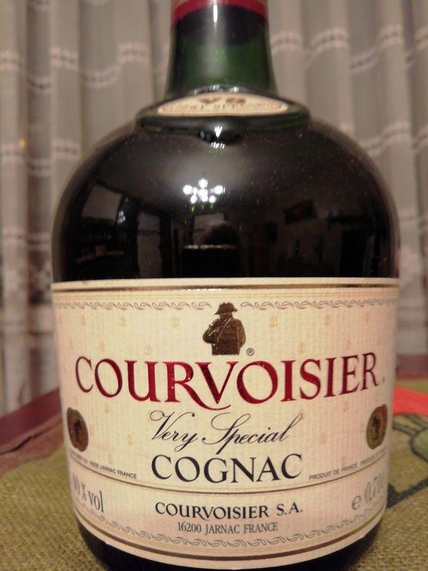 Cognac von Courvoisier zu verkaufen