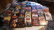 65 DVDs einmal benutzt zu