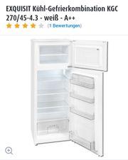 Kühlschrank mit Gefrierkombi von Exquisit