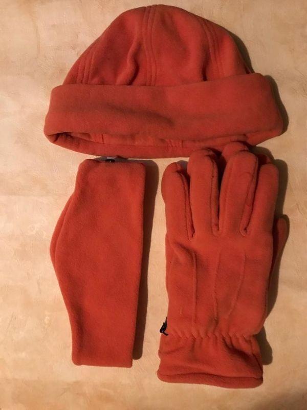 Winter-Set Handschuh Stirnband Mütze