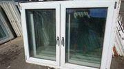 Zweiflügiges Fenster 164 cm breit