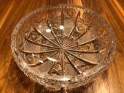 Exklusiver Bleikristall Aschenbecher aufwendiges Dekor