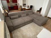 Couch Sofa Wohnlandschaft HOM In
