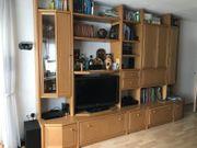 Hülsta-Wohnzimmer Schrankwand