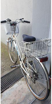 Damen-Fahrrad Villiger mit 2 Körben