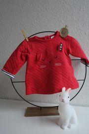Pink - rot wattierter Pullover Hase