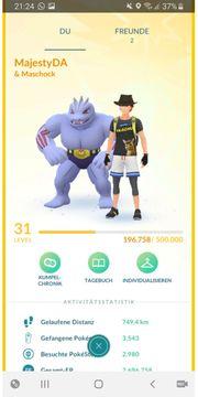 Pokemon Go Account LVL 31