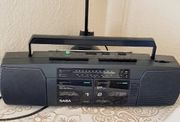 Radio DOPPEL-Kassetten-Recorder SABA RCR 575