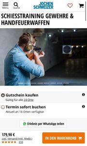2 x Schießtraining von Jochen