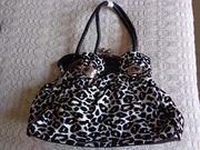 Vintage - Tasche Handtasche Leo Stoff