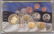 Euro Motivmünzensätze Estland Finnland Portugal