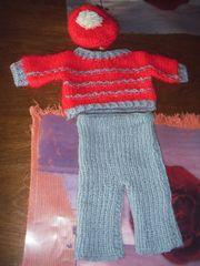 Puppenkleidung Pulli mit Hose u