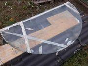 Glasplatten- Halbkreis -2Stk170 x 90