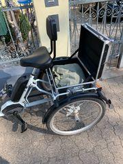 Ebike Dreirad für Behinderte Senioren