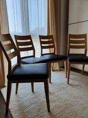 Design Stühle Eiche massiv 4