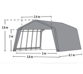 Weidezelt ca 23 0m² ca: Kleinanzeigen aus Neumünster - Rubrik Pferdeboxen, Stellplätze