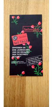 Belvedere Jahreskarte plus