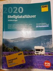 ADAC Stellplatzführer 2020 inkl Campcard