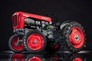 Bildzeichnung Geschenkidee Portrait Traktor