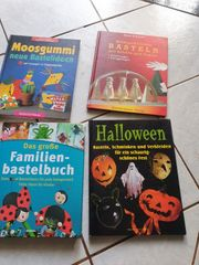 4 Bastel-Bücher je 3 Euro