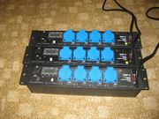 3X JB-Systems DSP-4 DMX Switch