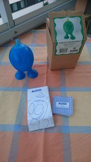 Alessi Zuckerstreuer Klassiker Blau GINO