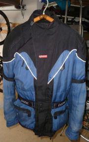 DANE Gore-Tex Cordura Motorradjacke blau