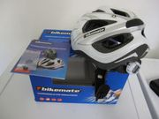 Bikemate Fahrradhelm-mit HinterLichtbeleuchtung -Größe 54-60 -