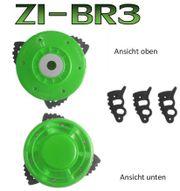 Zipper Maschinen Motorsensenaufsatz Bladerunner 3