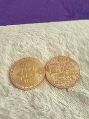 1 Unze BitCoin 24K vergoldet