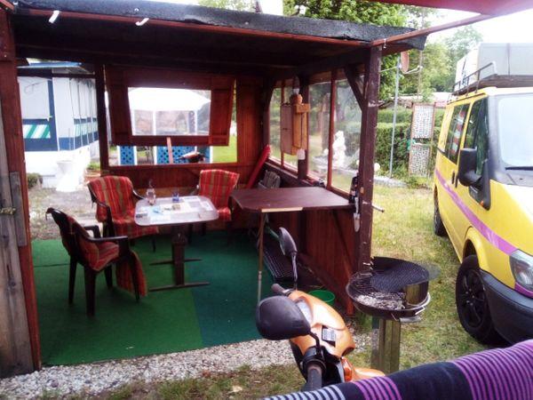 Campingplatz Monzingen Wohnwagen