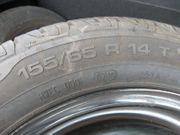 Radsatz mit Sommerreifen 155 65