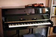 Klavier Bechstein 12N schwarz poliert